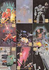 STAR WARS GALAXY 3 1995 TOPPS LUCAS ARTS GOLD FOIL INSERT CARD SET L1 - L12