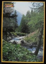 MONT BLANC FRENCH ALPS KODACOLOR CASSETETE 1000 PIECE JIGSAW PUZZLE ROSEART I-98