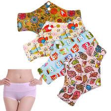 Reusable Panty Liner Menstrual Sanitary Mama Bamboo Cloth Pads 24.5x16.5cm