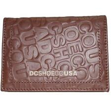 DC Shoes BRUNTY Men's GENUINE LEATHER Wallet New - Dirt