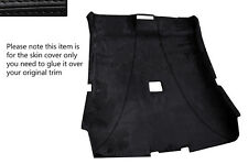 BLACK STITCH ROOF HEADLINING PU SUEDE SKIN COVER FITS BMW 3 SERIES E46 COUPE