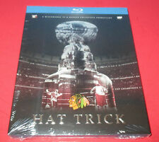 Hat Trick- Blu-Ray 2015- Chicago Blackhawks Stanley Cup Champions, NEW SEALED