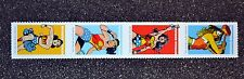 2016USA Forever - Wonder Woman - Strip of 4  Mint  comic  postage stamps