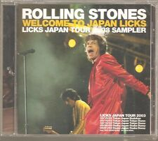 "THE ROLLING STONES ""Welcome To Japan Licks"" Japan Promo CD Sampler 2003"