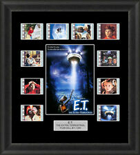 E.T. THE EXTRA TERRESTRIAL MOUNTED FRAMED 35MM FILM CELL MEMORABILIA