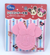 Official Disney Minnie Mouse Die Cut Head mini Silicone Cake Pudding Mold