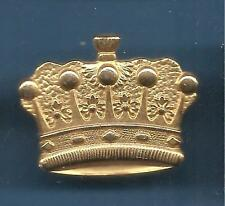 Pin's pin COURONNE 5 BOULES modele 2 Doree CROWN (ref 004)