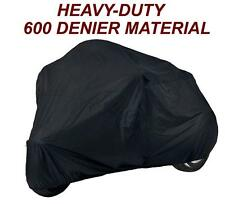 "Trike 3 wheeler Motorcycle Cover fits trikes up to 106""L x 60W x 45H"
