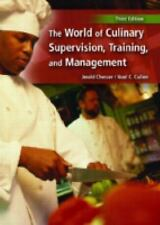 World of Culinary Supervision, Training and Management, The (3rd Editi-ExLibrary