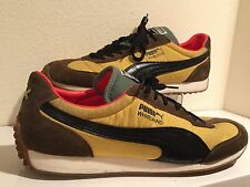 PUMA Whirlwind USAIN BOLT JAMAICA Olympic Gold Winner Shoes MEN's Sz 11 YELLOW