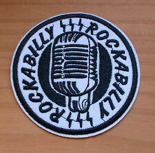 Rockabilly Patch Aufnäher - Vintage Retro Cool !