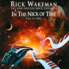 In the Nick of Time: Live in 2003 by Rick Wakeman (CD, Mar-2012, Music Fusion)