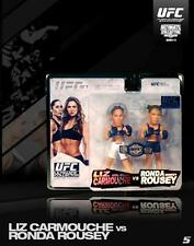 RONDA ROUSEY & LIZ CARMOUCHE ROUND 5 SERIES 14 EXCLUSIVE 2 PACK FIGURE 1000 MADE
