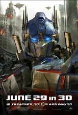 POSTER TRANSFORMERS 3 DARK OF THE MOON OPTIMUS PRIME #2