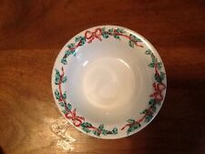 International Tableworks Christmas Ribbons 157 Soup/Cereal Bowl