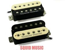Seymour Duncan Custom Custom SH-11 Bridge & Jazz SH-2n Neck Zebra Humbucker Set