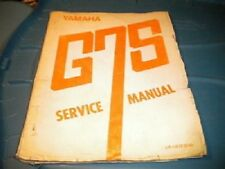 Yamaha Shop Service Repair Manual G7S G7-S