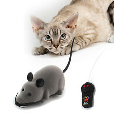 A#S0 New Remote Control RC Rat Mouse Wireless For Cat Dog Pet Toy Novelty Gift