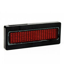 Programmable RED LED Scrolling Sign/Name Badge/Message Tag Display Board