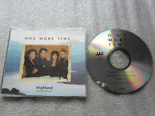 CD-HIGHLAND-ONE MORE TIME-VITALITY-GRÖNVALL/NORDQVIST-(CD SINGLE)-3TRACK-CD MAXI