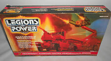 LEGIONS OF POWER TECH DYNASTY PLANETARY CONTROL VEHICLE 1986 SEALED CONTENTS