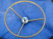 1963 1964 FORD FALCON FAIRLANE MERCURY NEW STEERING WHEEL GOLD THUNDERBOLT 63 64