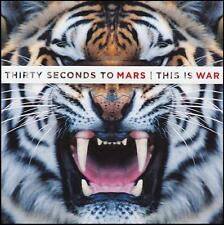 30 SECONDS TO MARS - THIS IS WAR CD ~ JARED LETO ~ THIRTY *NEW*