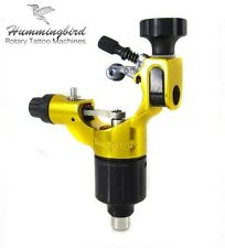 HUMMINGBIRD Aluminum Rotary Tattoo Machine RCA Liner Shader Supply Ink (GOLD)