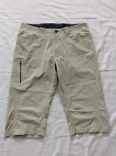 OUTDOOR RESEARCH WOMEN NYLON CLIMBING/HIKING CAPRI Pants SIZE 34 Beige Color SXS