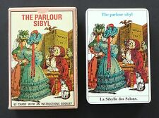 Vintage The Parlour Sibyl Fortune Telling Oracle Cards Deck Grimaud 1987