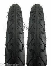 "Kenda K838 City Slick Bike Tire Pair 26 X 1.95""  Wide Mountain Cruiser Commuter"