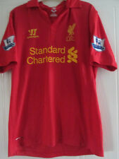 Liverpool 2012-2013 Home Football Shirt Tamaño Mediano Adulto Jersey Top / 38014