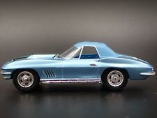 1967 Chevrolet Corvette Blue 1/64 DIECAST LIMITED EDITION COLLECTIBLE MODEL CAR
