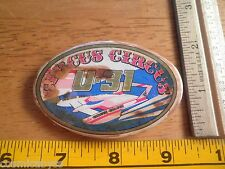 1980s Power boat racing button Circus Circus Thunderboats Racing Team U-31
