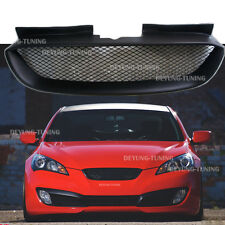 Front Hood Mesh Grille Bumper Grill for Hyundai 2008-2010-2012 Genesis Coupe