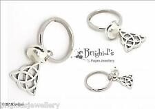 Cat Collar Charm   Triquetra  Pagan Wicca Familiar Kittie  Pagan Jewellery
