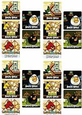 ANGRY BIRDS Set of 20 Large Stickers!
