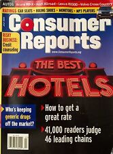 Consumer Reports (July 2001) The Best Hotels ~ Lexus RX300 ~ Car Seats ~ Volvo X
