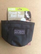 TREAT N' BALL BAG by Outward Hound - BLACK