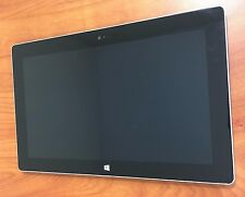 Microsoft Surface RT 32GB WiFi 10.6in Silver Good Condition/power up ?read