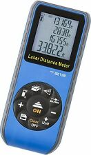 Handheld Digital Laser Point Distance Meter Measure Tape Range Finder 60m 196 ft