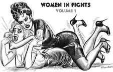 Female Wrestling Boxing COMICS Eric Stanton Glen catfight ebook on CD