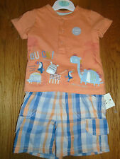 BNWT baby boy summer shorts outfit. 0-3 months. George@asda