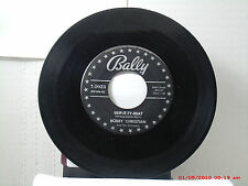 BOBBY CHRISTIAN -(45)- SKIP-IT-TY-BEAT / CHATTANOOGA CHA CHA - BALLY  1023- 1956