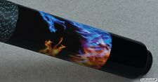 MCDERMOTT LUCKY L64 DUELING DRAGON Two-piece Billiard Pool Cue Stick & FREE CASE