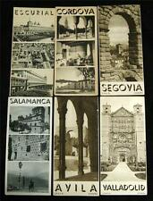 LOT OF 6 REGIONS OF SPAIN SOUVENIR TOURISM BROCHURE GUIDES 1920s 1930s VINTAGE