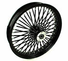 21 X 3.5 52 Mammoth Fat Spoke Black Front Wheel Rim 00-2007 Harley Touring