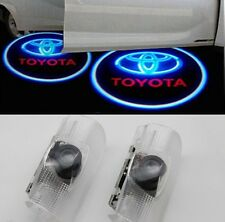2 x DOOR COURTESY LIGHT Cool LED LOGO LASER GHOST PROJECTOR SHADOW FOR TOYOTA