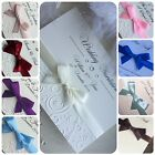 Pocketfold Wedding or Evening Invitations - inserts - Personalised - Handmade