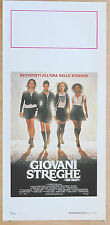LOCANDINA, GIOVANI STREGHE The Craft FAIRUZA WICK, NEVE CAMPBELL, HORROR POSTER